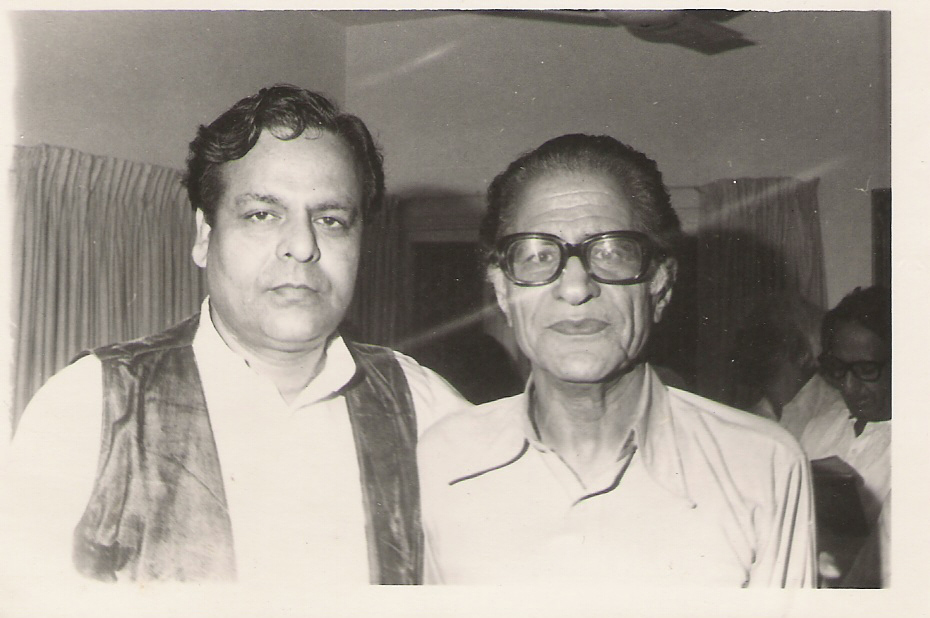 Tishna with Ahmed Nadeem Qasmi